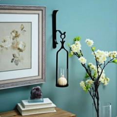 Gwendolynn Dark Bronze Sconce Elegant Home Accent