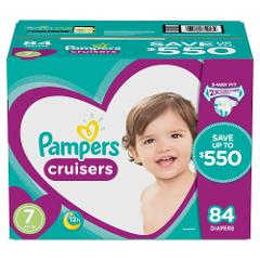 Pampers Cruisers Diapers Size 7 84 ct.