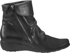 Mephisto Seddy Comfort Ankle Boots (Women's) in Black Texas Le...