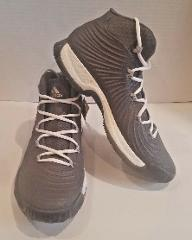 adidas Mens Crazy Explosive 2017 Boost Grey Basketball Shoes B...