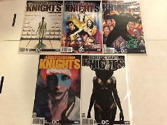 Hardcorps Knights #1 2 3 4 5 Comic Book Set #1-5 Overground Co...