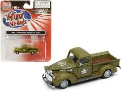 1941-1946 Chevrolet Pickup Truck U.S. Army 1/87 Scale