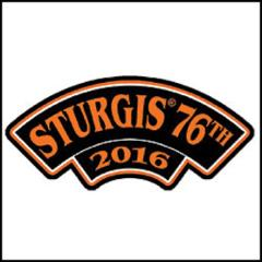 Hot Leathers Official 2016 Sturgis Motorcycle Rally Rocker Patch
