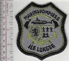 Fire Boat France Ile Longue Submarine Base Fire Department Mar...