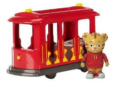 Daniel Tiger's Neighborhood Trolley with Daniel Tiger Figure F...
