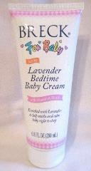 Breck for Baby Lavender Bedtime Baby Cream 6.8 fl oz New Disco...