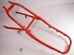 86 KTM 350 MXC REAR SUB-FRAME GRAB BAR HANDLE BRACKET