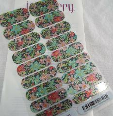 Jamberry Sweet September 0916 SX201609 Nail Wrap Full Sheet