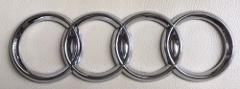 178mm AUDI FOUR RINGS REAR BOOT TRUNK BADGE EMBLEM for A3 S3 A...