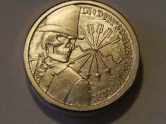 2013 1oz Copper ROUND Silver Bullet Silver Shield IN DEPT DEAT...