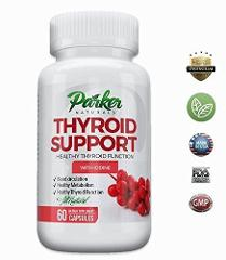 Thyroid Health Support Supplement Energy Vitamin Metabolism Bo...