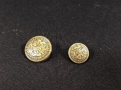 Vintage Pair of Metal Buttons Civitatis Imperialls Mon No Thvr...