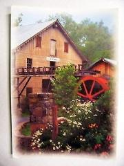 The Old Grist Mill Postcard