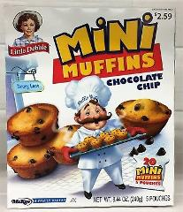 Little Debbie Mini Chocolate Chip Muffins 8.44 oz