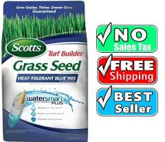 Scotts Turf Builder Grass Seed Sun and Shade Lawn Fertilizer W...