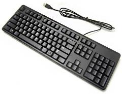 Genuine Dell/hpUSB Keyboard BLACK US Layout mix models UK SELLER