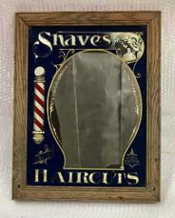 Hansen Shaves And Two Bits Haircuts Mirror