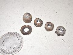 64-66 HONDA CT200 #3 CYLINDER HEAD MOUNTING NUTS