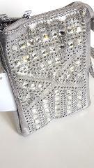 Cell Phone Bling Cross Body Bag Crystal Purse Handbag Small Me...
