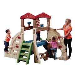 Step2 Outdoor Playground Creativity Alpine Ridge Climber & Sli...