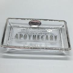 BELLA LUX Apothecary Glass Soap Dish Dr H Gnadendorff Bathroom...