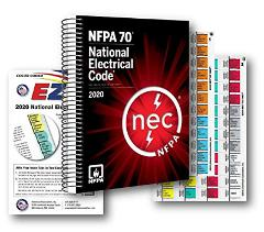 NFPA National Electrical Code NEC Spiralbound, with Color Code...