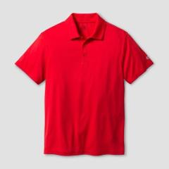 c9 Champion Boys Short Sleeve Golf Polo Shirt Solid Red