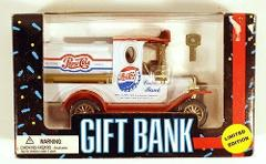Pepsi Cola Gift Bank Die Cast Limited Edition 1993 Golden Whee...