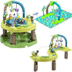 Evenflo Baby Exersaucer Jumperoo Triple Fun Activity Learning ...