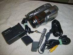 Panasonic PV-GS250 3.1MP 3CCD MiniDV Camcorder w/10x Optical Z...