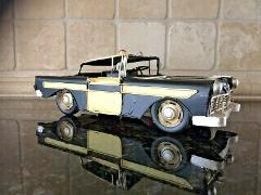 Police Car Vintage old Style Metal police car. Look Good any w...