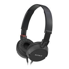 Sony MDR-ZX100 Black Headphones