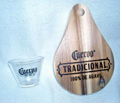 50 JOSE CUERVO BLACK Tequila Clear Plastic 6oz Party Glasses &...