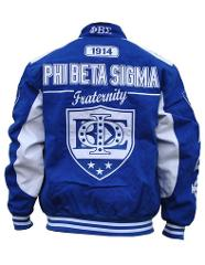 PHI BETA SIGMA FRATERNITY RACE JACKET PHI BETA SIGMA HOODIE G...