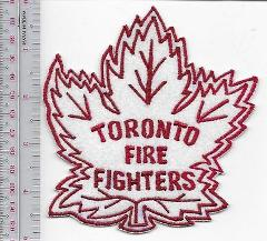 Toronto Fire Department Firefighters Ice Hockey Club Crest Patch