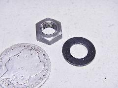 77 YAMAHA YZ80 YZ80D CLUTCH MOUNTING NUT & SPRING WASHER