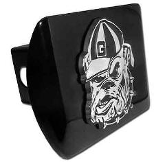 Georgia (Bulldog) Black Hitch Cover