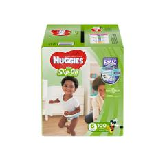 Huggies Little Movers Slip-On Diaper Pants Size 6 100 ct.