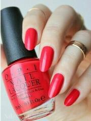 OPI Coke ~COCA COLA RED~ Hot Classic Red Creme Nail Polish Lac...