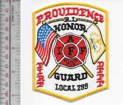 Providence Fire Department PFD Honor Guard Local 799 Providenc...