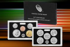 2017-S US Mint 225TH Anniversary Uncirculated ENHANCED 10 Coin...