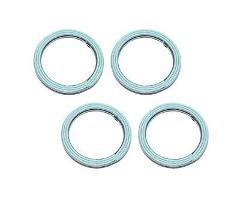 Set Of 4 Yamaha New K&L Exhaust Pipe Muffler Header Gasket 013...