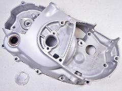 72 KAWASAKI G5 G-5 100 RIGHT SIDE CLUTCH COVER HOUSING