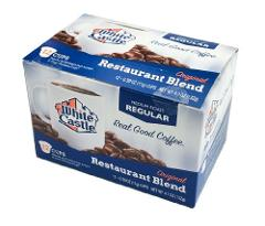 White Castle Restaurant Blend Coffee K-Cups Medium Roast Regul...