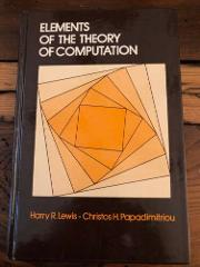 Elements of the Theory of Computation (Prentice-Hall Software ...