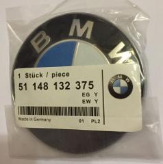BMW 82mm REPLACEMENT BONNET HOOD BADGE EMBLEM for 1 3 5 7 Z3 Z...
