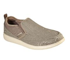 Skechers Men's Status Delton Relaxed Fit with Air Cooled Memor...