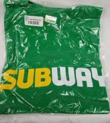 Subway 3 XL employee uniform sandwich artist crew T Shirt