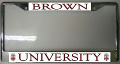 Brown University Photo License Plate Frame