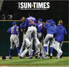 Chicago Sun-Times Chicago Cubs World Series Champs Edition 20...